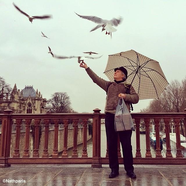 На улицах Парижа,  инстаграм фото