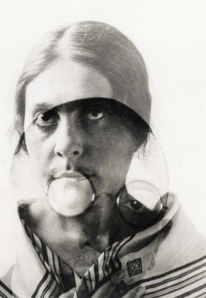 Лиля и Осип Брики. Двойная экспозиция, 1924 год. Фото: Александр Родченко