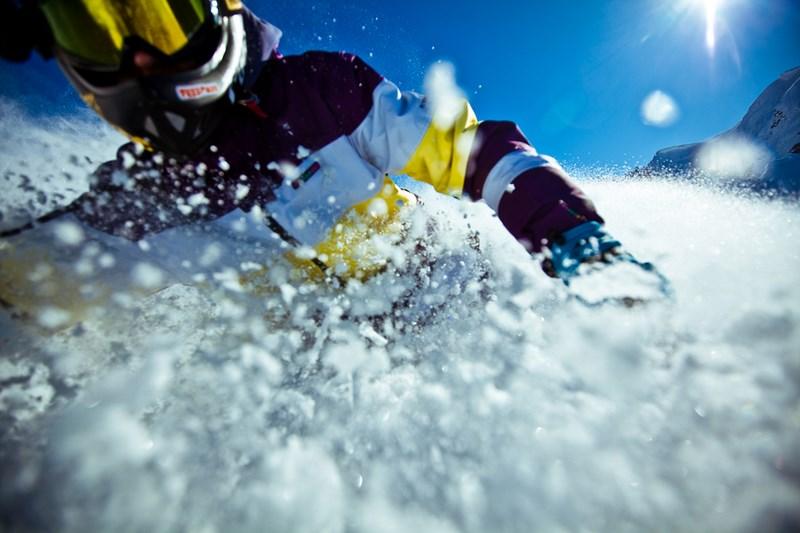 Фото Кирилла Умрихина. Николай Пиотровский на лыжах в Красной Поляне