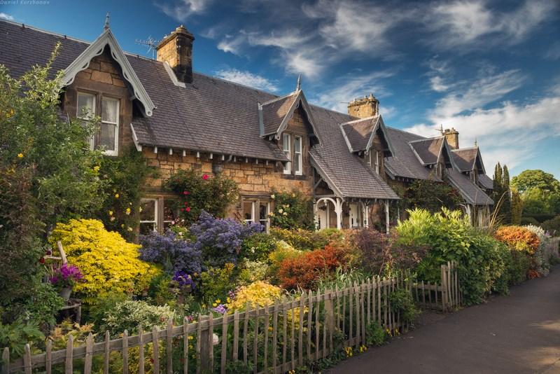 Дома и в Англии, и в Шотландии очень похожи