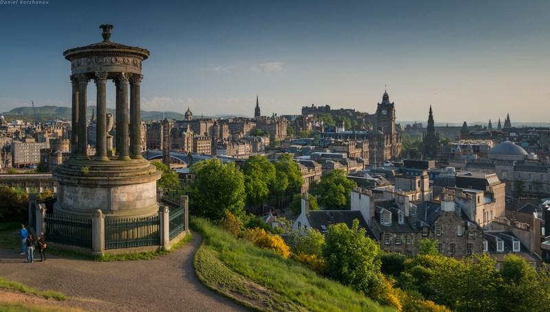 Средневековая архитектура Эдинбурга