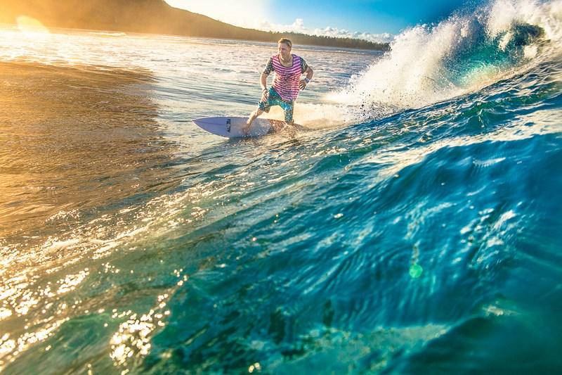Серфинг. Фото Кирилла Умрихина. На фото Петр Тюшкевич, Маврикий