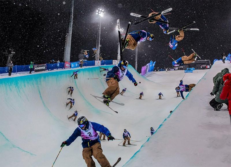 Соревнования по сноуборду. Фото Кирилла Умрихина. Дэвид Вайз, Чемпионат Мира 2013, Роза Хутор