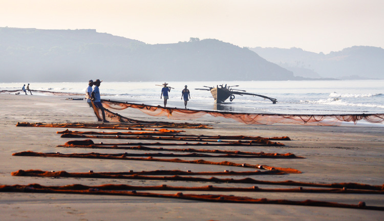 "На пляже. Фото из серии ""Вид на жительство"""