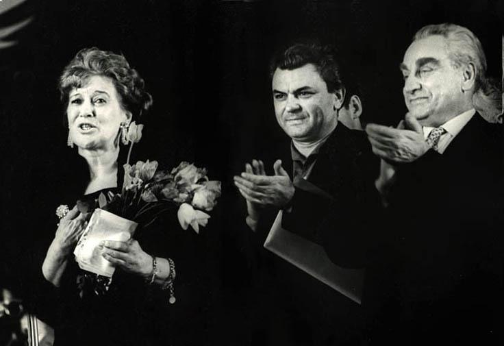60-летие Любови Орловой в Доме кино. Фото школьных лет Марка Штейнбока