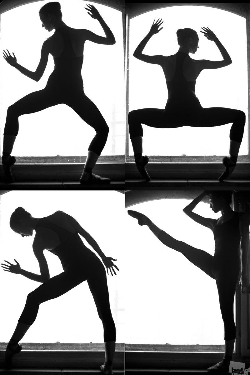 «Этюды». Балерина Юля Екатерина Лыжина, город Новосибирск