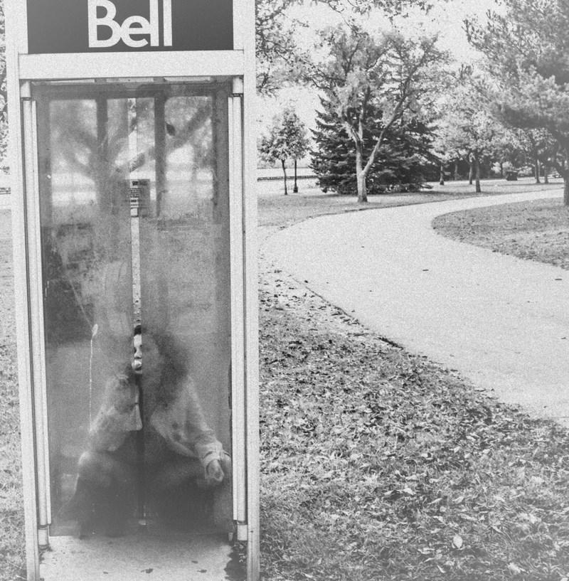 Телефон. Стрит фотография Никиты Ступина