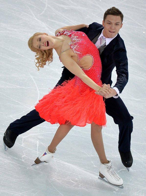 Екатерина Боброва и Дмитрий Соловьев. Пара получила от судей оценку 70,27.