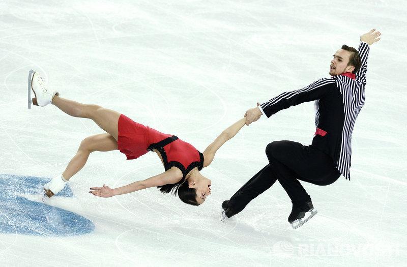 Ксения Столбова и Федор Климов показали лучший результат, набрав 135,09 балла.