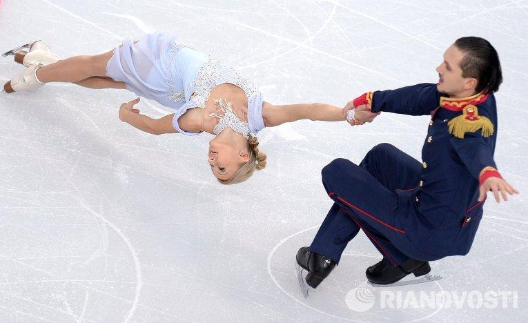 Фигуристы Волосожар и Траньков установили рекорд в короткой программе