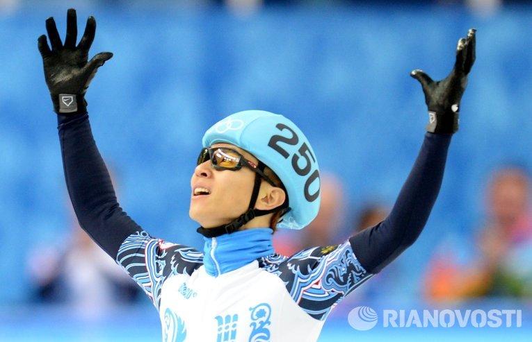 Виктор Ан выиграл первое в истории России золото Олимпийских игр в шорт-треке