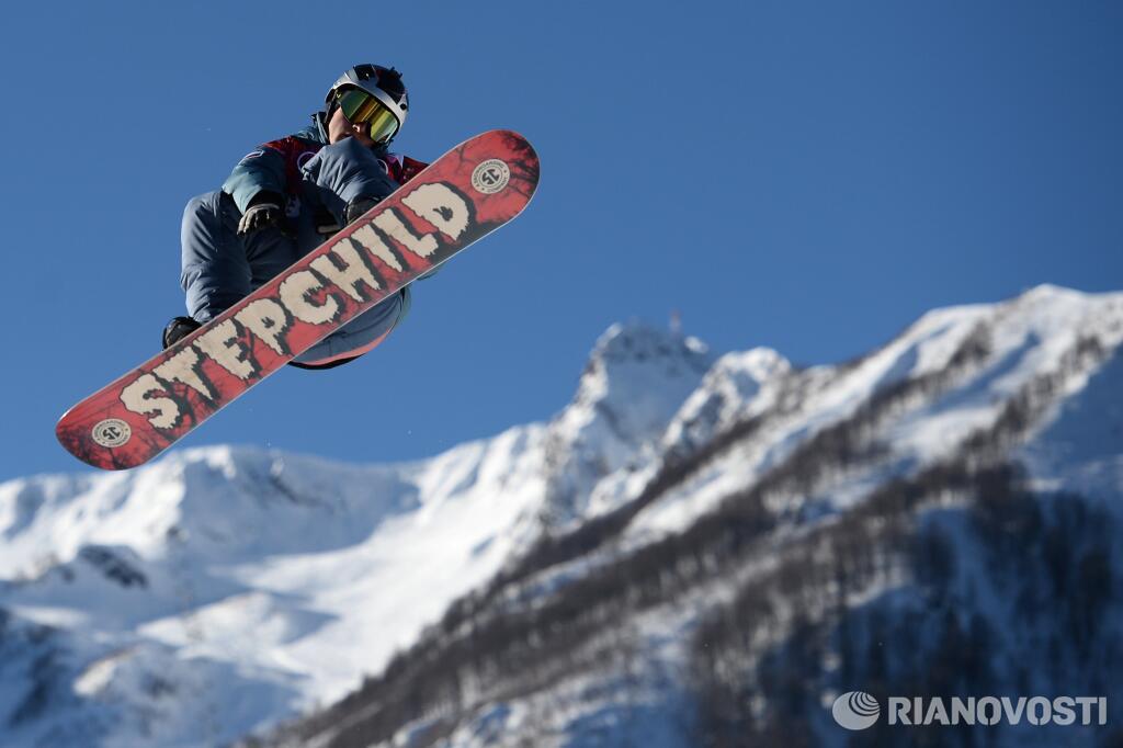 Алексей Соболев, слоупстайл. Фото: РИА Новости