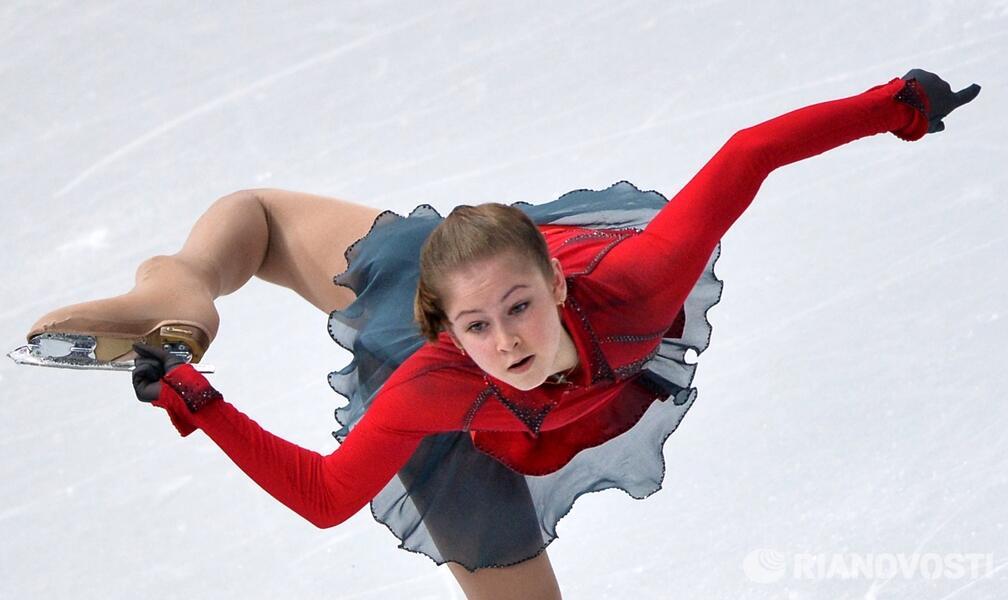 Юлия Липницкая стала самой юной Чемпионкой зимних ОИ. РИА Новости