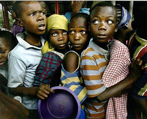 Африканские дети. Фото Кэролин Коул (Carolyn Cole)