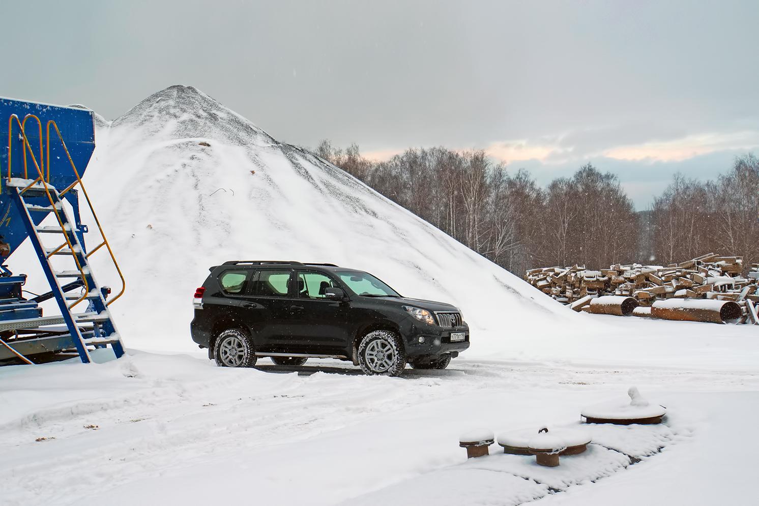 Toyota Land Cruiser Prado - тест драйв