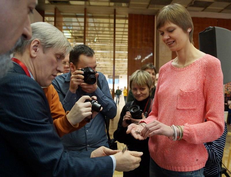 На мастер-классе Ирины и Андрея Козорог о макросъемке