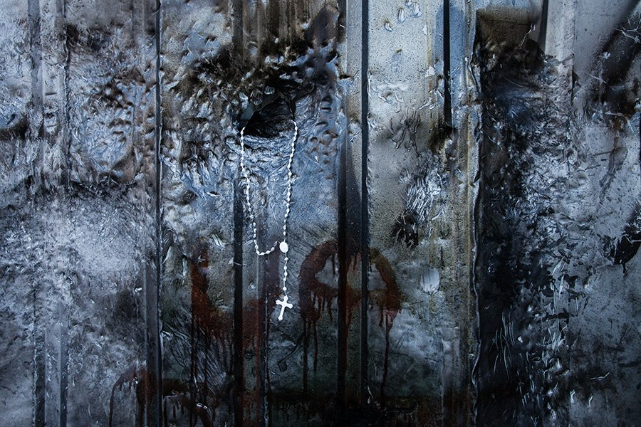Крест. События в Киеве. Фото: Михаил Палинчак