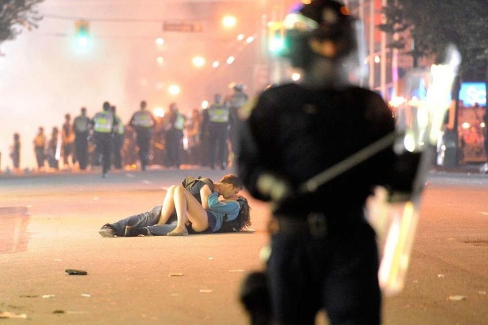 «Беспорядки в Ванкувере», Ричард Лэм (Richard Lam), 2011 год