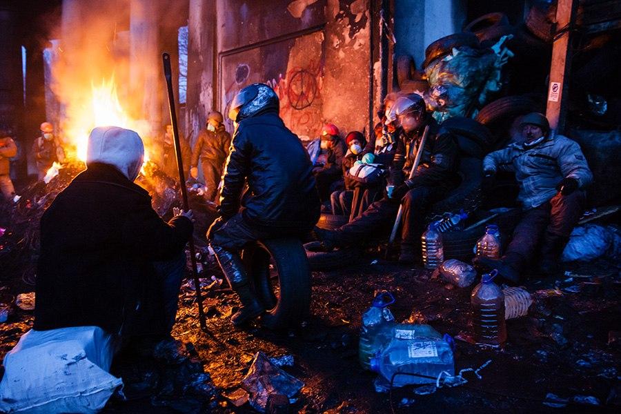 Беспорядки в Киеве. Фото: Михаил Палинчак
