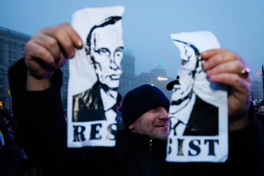 Революция в Киеве. Фото: Михаил Палинчак