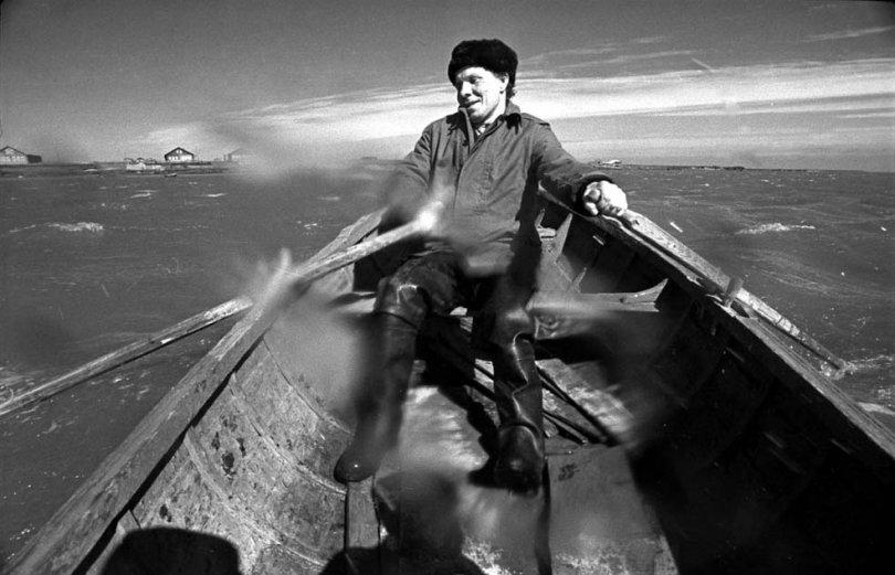 В лодке. Фото: Владимир Никитин