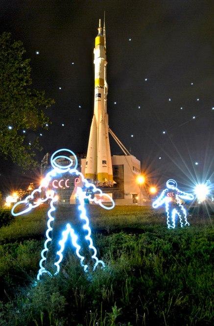 Космонавт, фризлайт. Фото: Streltsova Nataly