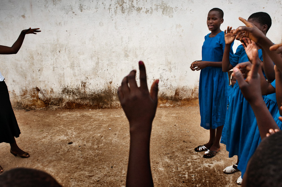 Африканские дети. Фото - Франческо Зизола (Francesco Zizola)