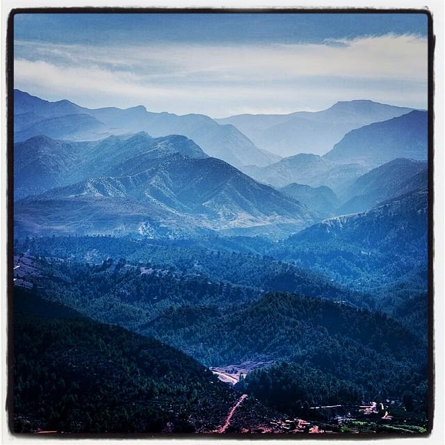 Горы, пейзаж, instagram фото