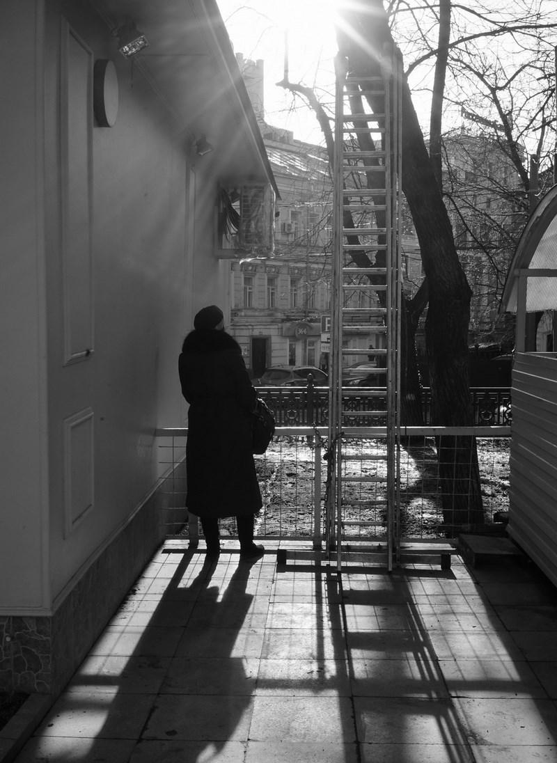 Гоголевский бульвар, Москва. Тестовые фото Sony 7