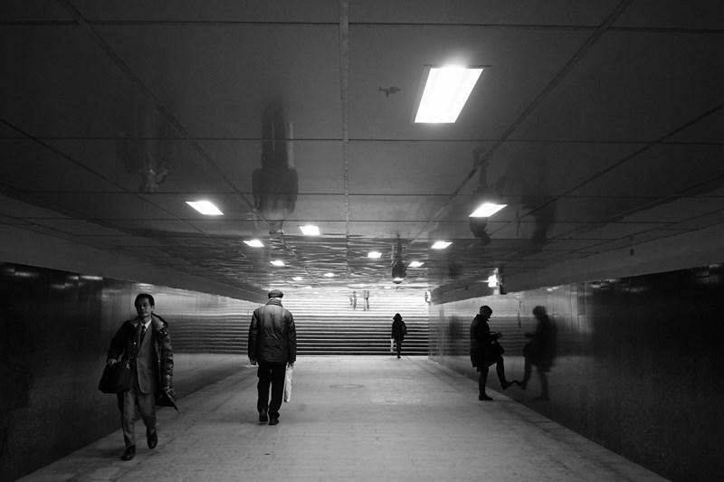 Подземный переход, Москва, Арбат.  Тестовые фото Sony 7