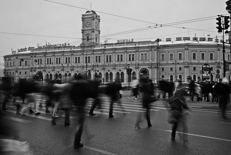 Московский вокзал, Петербург. Тестовые фото Sony 7