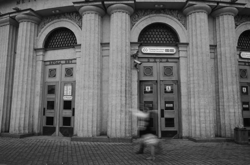 """Метро """"Площадь восстания"""", Петербург. Тестовые фото Sony 7"""
