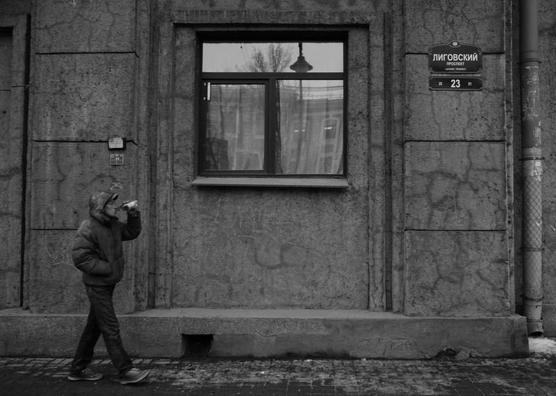 Лиговский проспект, Санкт-Петербург. Тестовые фото Sony 7
