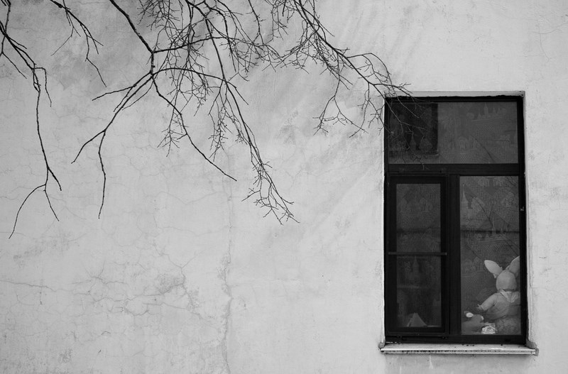 Окно. Кронштадт.  Тестовые фото Sony 7