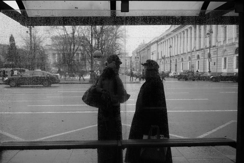 Остановка на Невском проспекте, Санкт-Петербург. Тестовые фото Sony 7