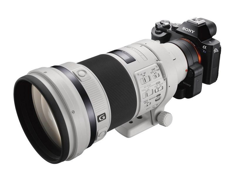 Полнокадровая беззеркальная камера Sony α7S поддерживает съемку видео 4К A7s_wsal300f28g2_right-1200