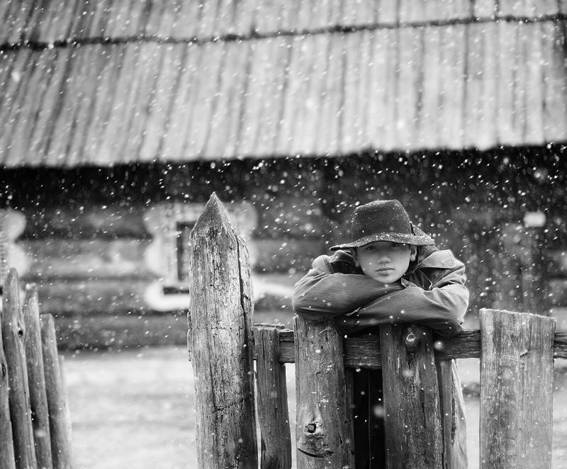 Название серии: «Весенний снег» Название фотоработы:  «Газда» Место съёмки: Украина, Киев Дата съёмки: 2011