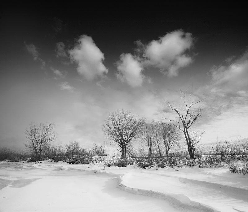 Название фотоработы:  «Замёрзший залив» Место съёмки: Украина, Киев Дата съёмки: 2009