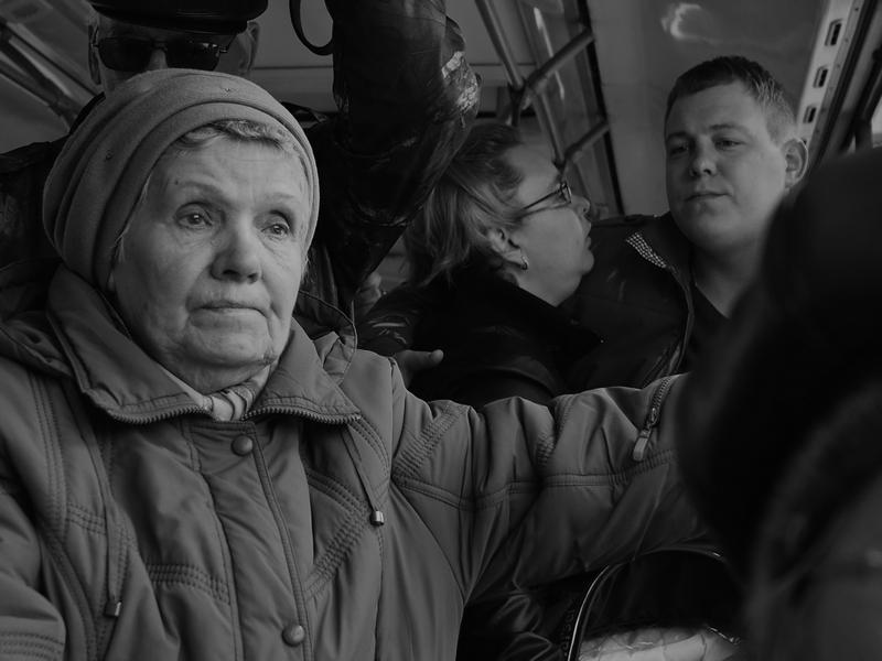 «В автобусе» Автор - Виктор Загуменнов (viktor)