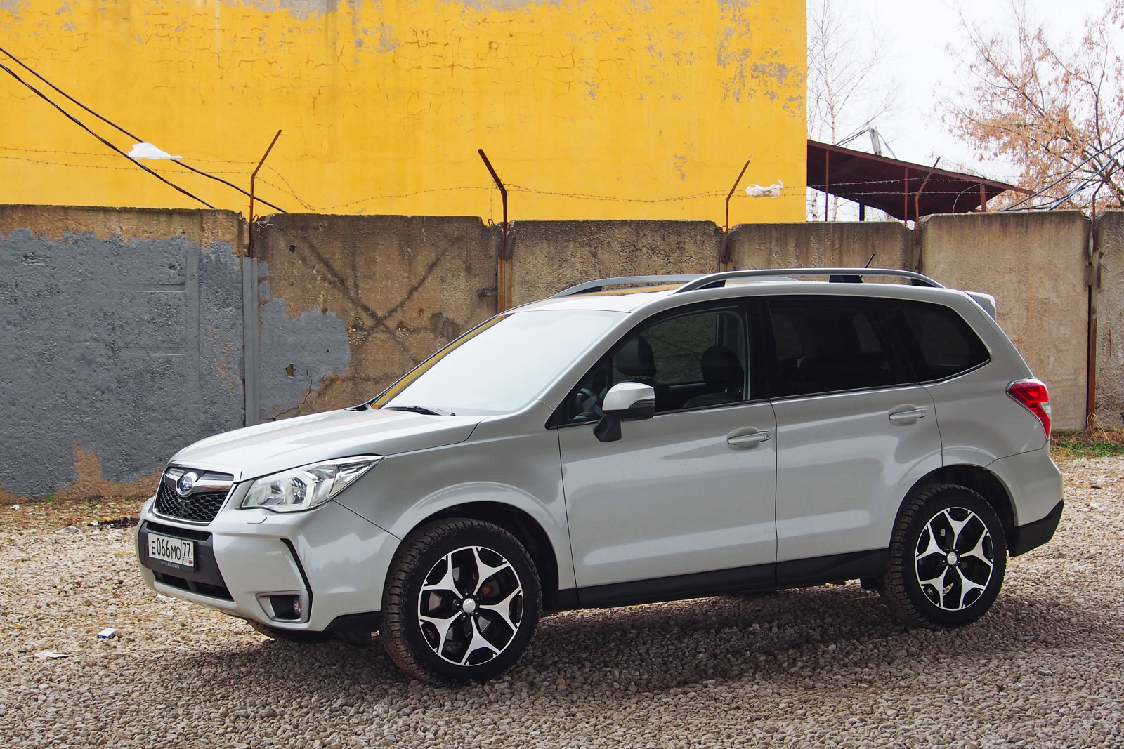 Subaru Forester - динамика