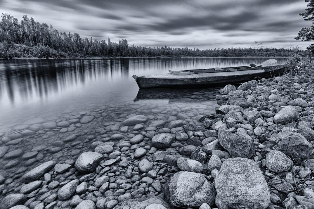 Озеро в Карелии. Автор – Алексей Зарипов