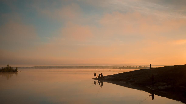 Онежское озеро. Автор – Аркадий Чистяков