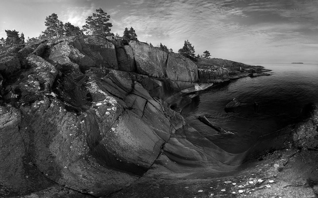 Карелия, панорама.  Автор - Виктор Журавлёв