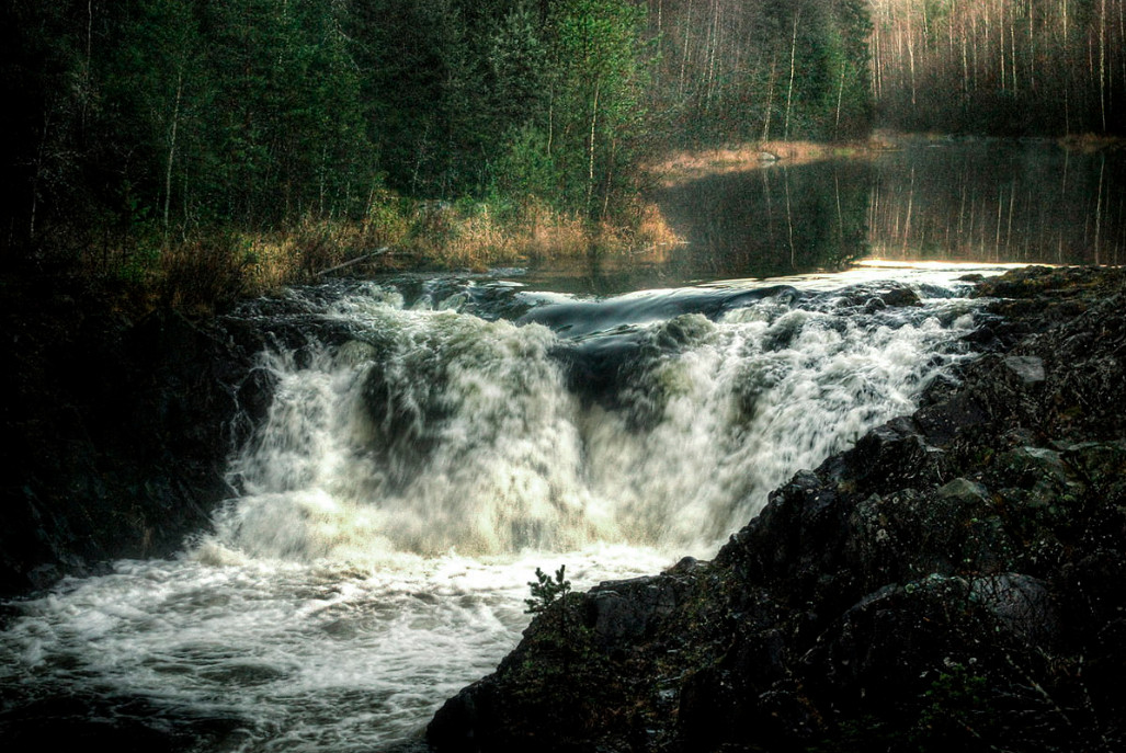 Река Суна, Карелия. Автор - Виктор Журавлёв
