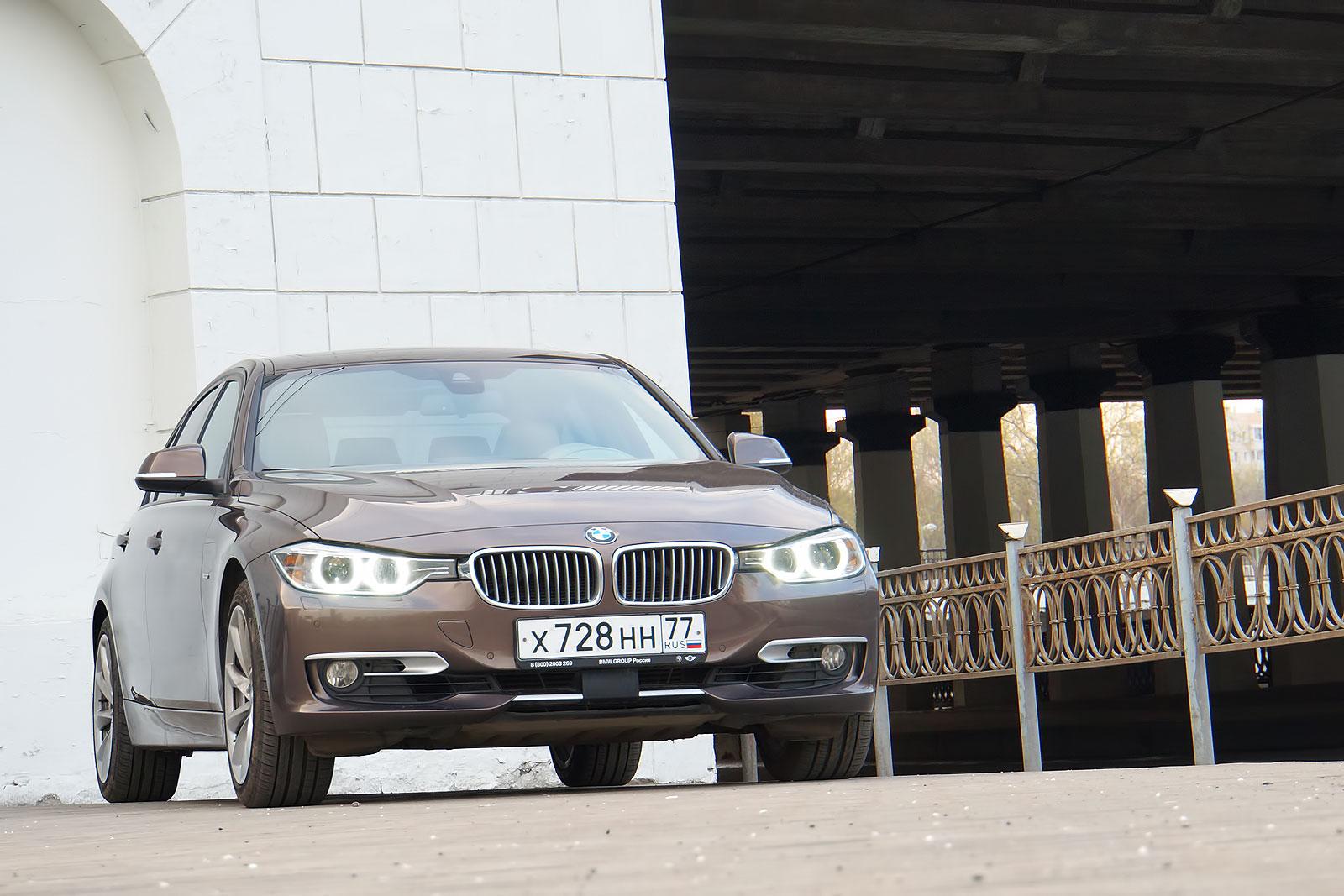 BMW 328i xDrive - комфортабельность