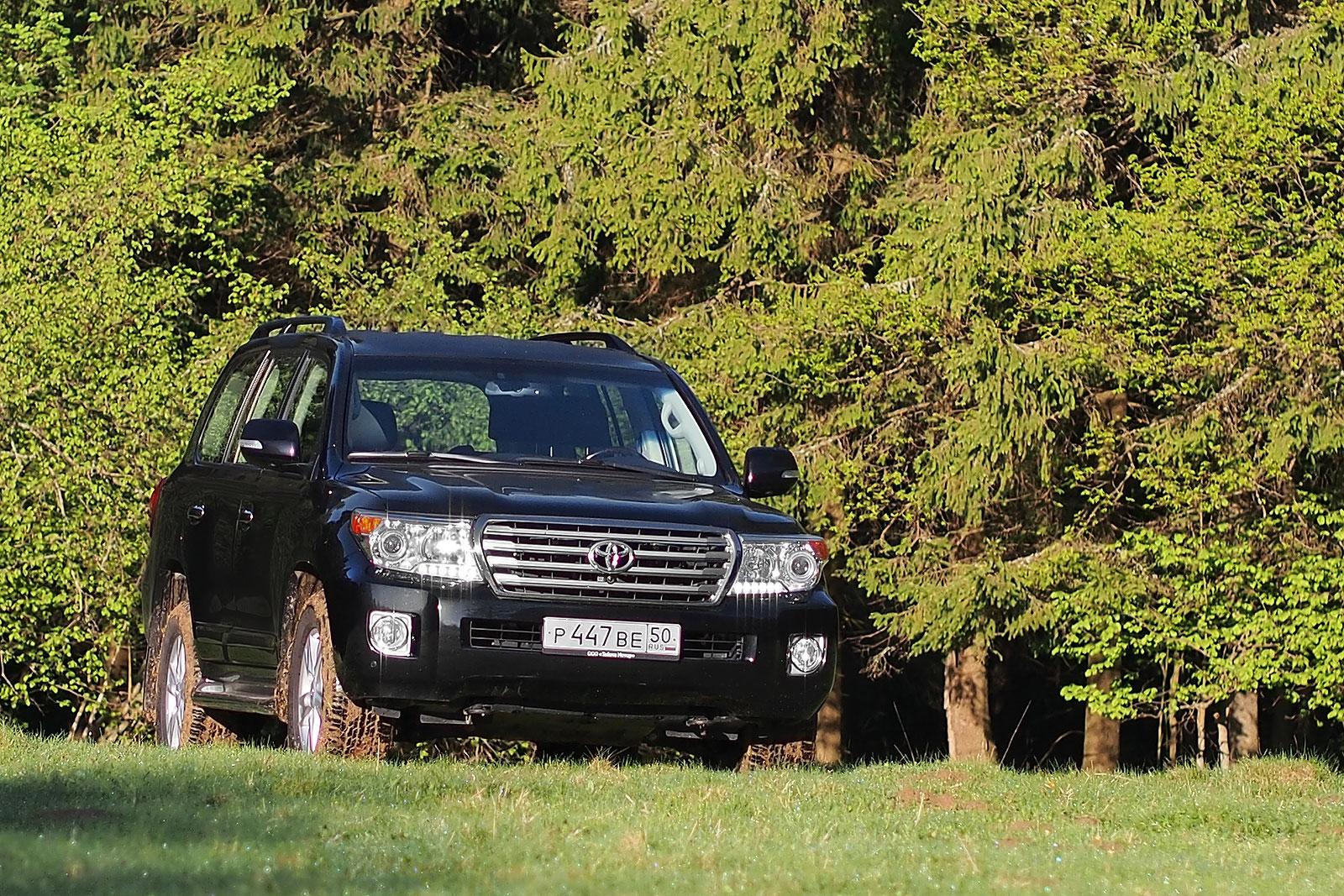 Toyota LC200 - Общие характеристики