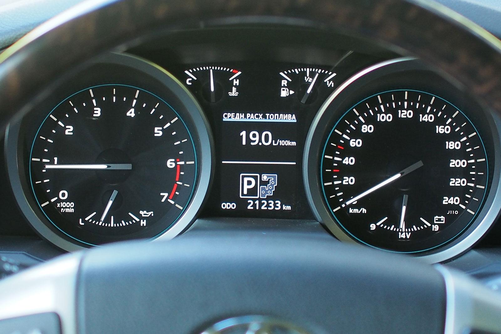 Toyota LC200 - Основные характеристики