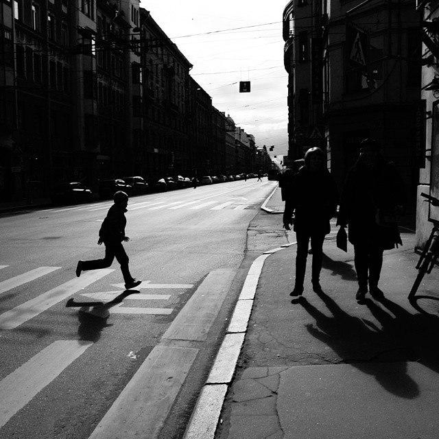 Уличная фотография. Петербург. Фото: Алексей Компаниец