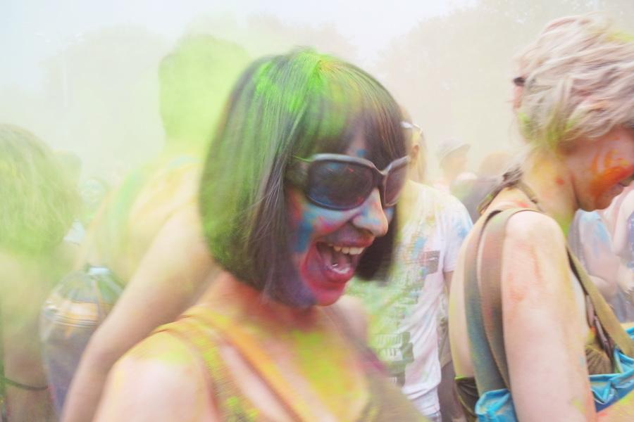 Фестиваль Холи в Москве. Тестовые фото Samsung NX Mini
