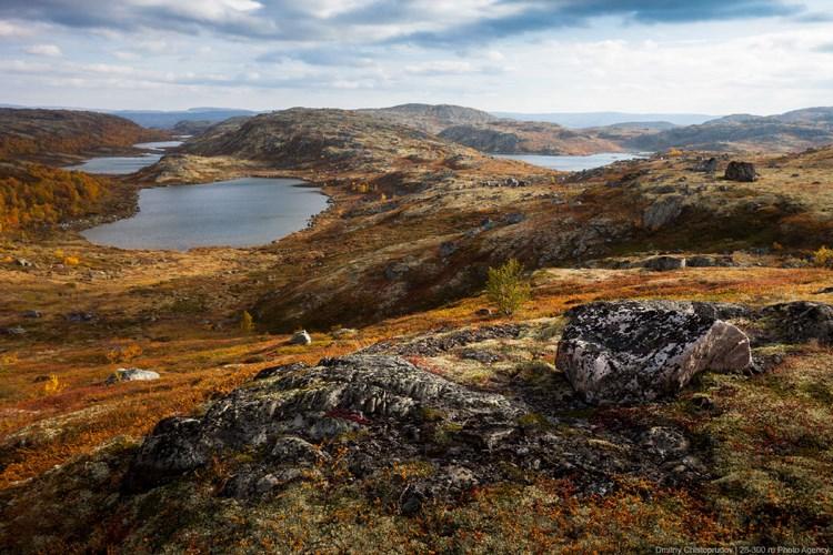 Пейзажи Кольского полуострова. Фото Дмитрия Чистопрудова